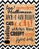 Halloween Typog 2 Fine-Art Print