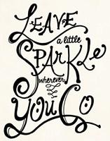 Leave A Little Sparkle 2 Fine-Art Print