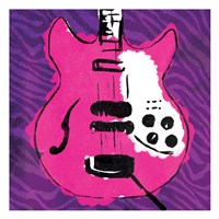 Girly Guitar Zoom Mate Fine-Art Print