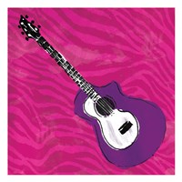 Girls Rock Guitar Fine-Art Print