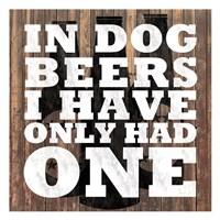 Dog Beers Fine-Art Print