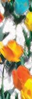 Glowing Florals Mate Fine-Art Print
