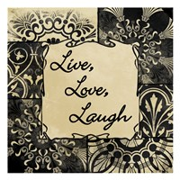 Live Love Laugh Fine-Art Print