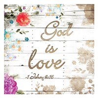 God Is Love Fine-Art Print