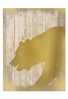 Golden Wildlife 1 Fine-Art Print