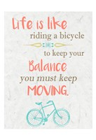 Life is Like Riding 3 Fine-Art Print