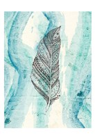 Henna Feather 2 Fine-Art Print