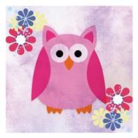 Retro Owl 1 Fine-Art Print