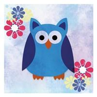 Retro Owl 2 Fine-Art Print