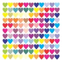 Groovy Love Pattern 2 Fine-Art Print