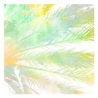 Watercolor Palm 1 Fine-Art Print