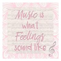 Music Is A Fine-Art Print