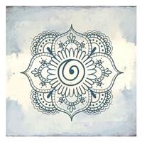 Henna Square 1 Fine-Art Print