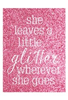 She Glitter Fine-Art Print