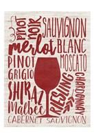 Wine Types Fine-Art Print