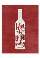 Bottled Wine Fine-Art Print