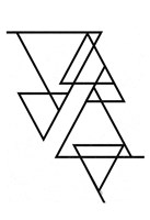White Triangle Fine-Art Print