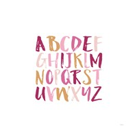 Girl Upper Letters Fine-Art Print