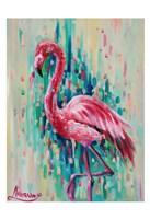 Flamingo Pose 1 Fine-Art Print