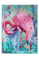 Flamingo In The Natural 1 Fine-Art Print