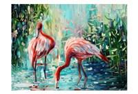Flamingo's Delight 1 Fine-Art Print