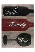 Faith Family Wine Fine-Art Print