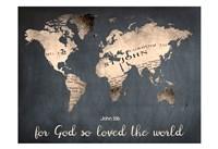 For God So Loved The World Fine-Art Print