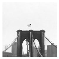 Brooklyn Bridge bw Fine-Art Print