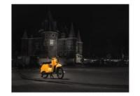 Amsterdam Scooter Fine-Art Print
