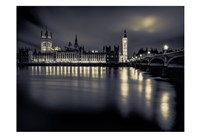 London Duotone Parliament Fine-Art Print