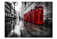 London Phone Booths Fine-Art Print