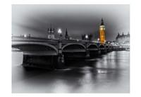 London Selective Bridge and Big Ben Fine-Art Print