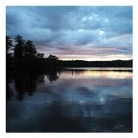 Sunset Lake Pink 1 Fine-Art Print