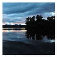 Sunset Lake Pink 2 Fine-Art Print