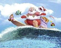 Santa's Vacation Fine-Art Print