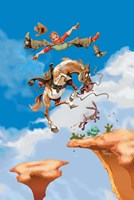 Jumping Jack Fine-Art Print
