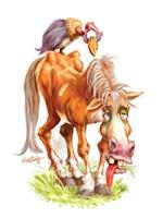 Get Well Old Horse Fine-Art Print