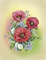 Bouquet of Poppies Fine-Art Print
