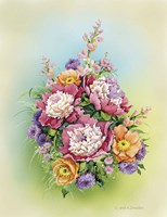 Bouquet with Peonies Fine-Art Print