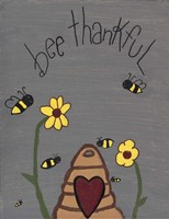 Bee Thankful Fine-Art Print