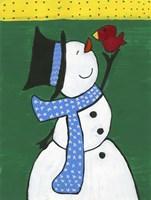 Snowman Smile Fine-Art Print