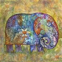 Runes Elephant Fine-Art Print