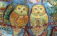 Byzantine Owls Fine-Art Print