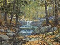 Glen Creek Waterfalls Fine-Art Print