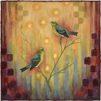 Birds Sunset Fine-Art Print