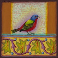 Painted Bunting Fine-Art Print
