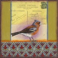 Carte Postale Bird 4 Fine-Art Print