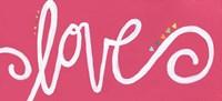 Love - Pink Fine-Art Print