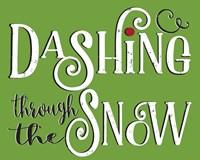 Dashing Through the Snow Fine-Art Print