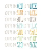 You're the Sun to my Shine Fine-Art Print